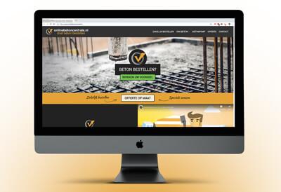 website met informatie over betonstorten