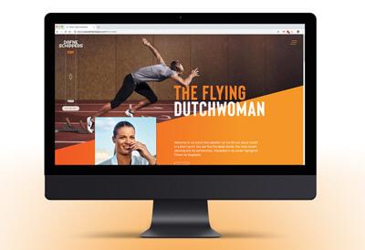Dafne Schippers sprint van haar website