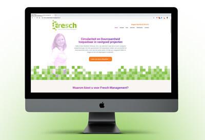 Website van Fresch over circulariteit en duurzaamheid
