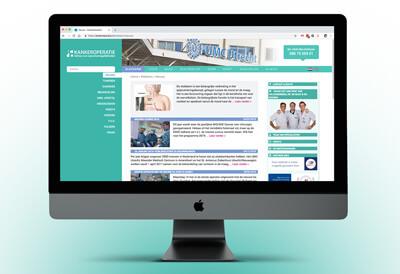 website waarin patienten geinforeerd worden over behandelmethodes