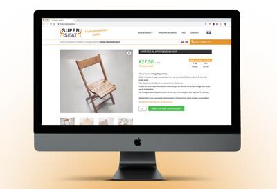 een website die horecameubilar verkoopt
