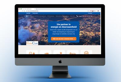 Website van COMCAM