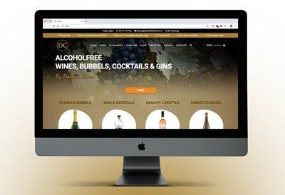 Website van Alcoholfreedrinks